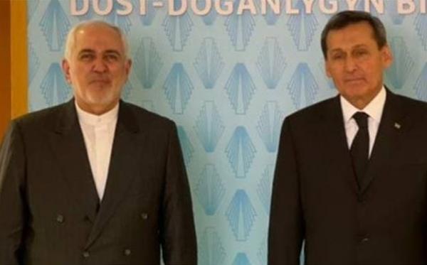 محور های گفت وگوی ظریف با همتای ترکمنستانی در عشق آباد خبرنگاران