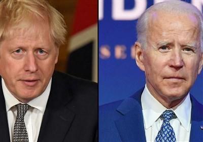 توافق جانسون و بایدن بر سر لزوم بازگشت ایران به تعهدات برجامی