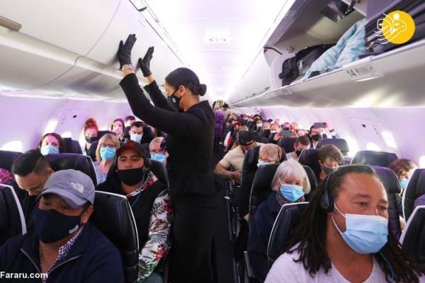 (تصاویر) شروع سفر های بدون قرنطینه بین استرالیا و نیوزیلند
