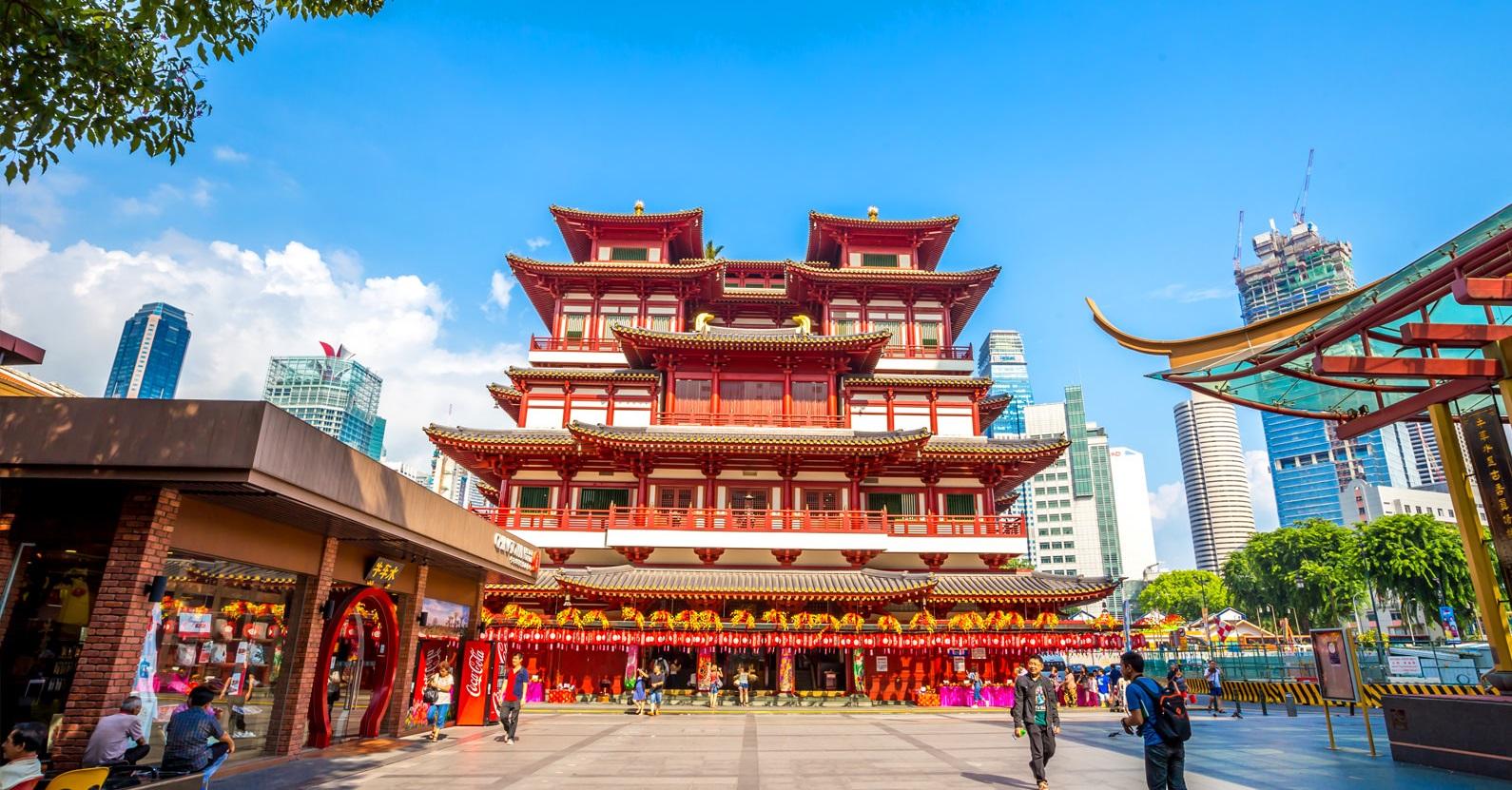 محله چینی ها در سنگاپور