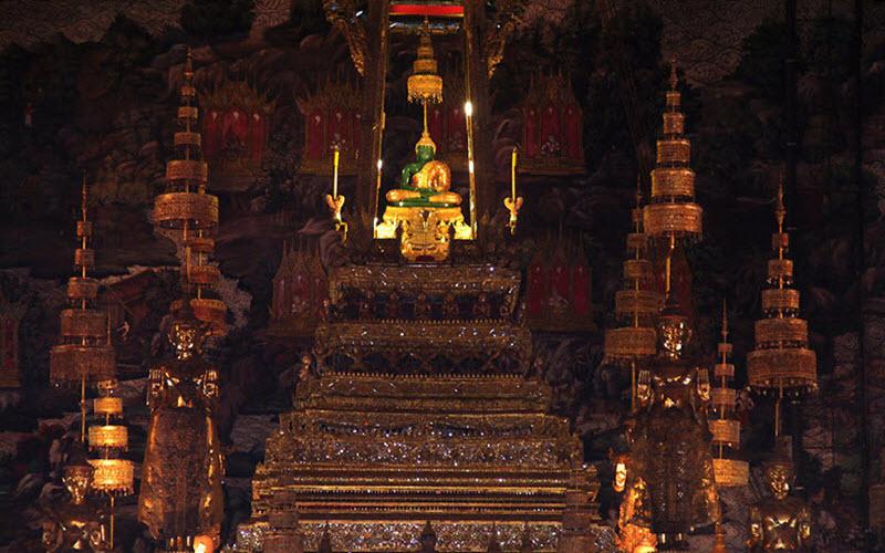 جاذبه های کاخ بزرگ تایلند