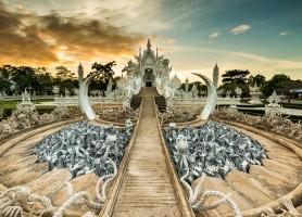 معبد وات رانگ کان در تایلند